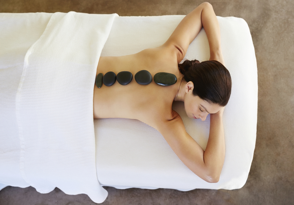 massage, Asian, tired, oil, acupressure, hot stone